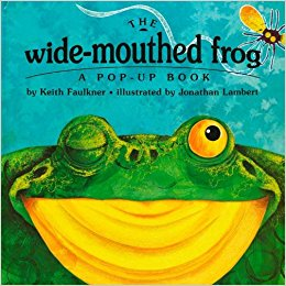 The Wide-Mouthed Frog: A POP-UP BOOK by Keith Faulkner &‎ Jonathan Lambertの画像