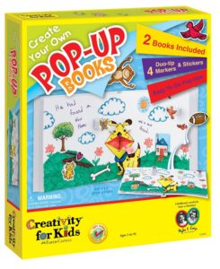 Creativity for Kids Create Your Own Pop-Up Books Activityの画像
