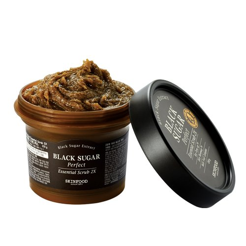 SKIN FOOD BLACK SUGAR Perfect Essential Scrub 2Xの画像