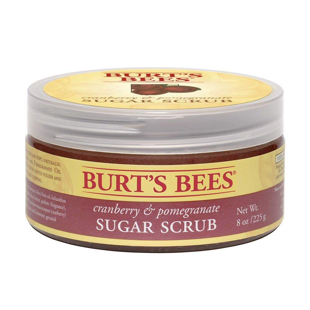 BURT'S BEES cranberry & pomegranate SUGAR SCRUBの画像