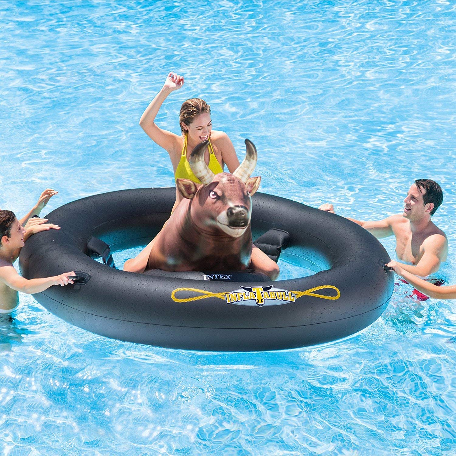Intex Inflat-A-Bull Inflatable Pool Toyの画像