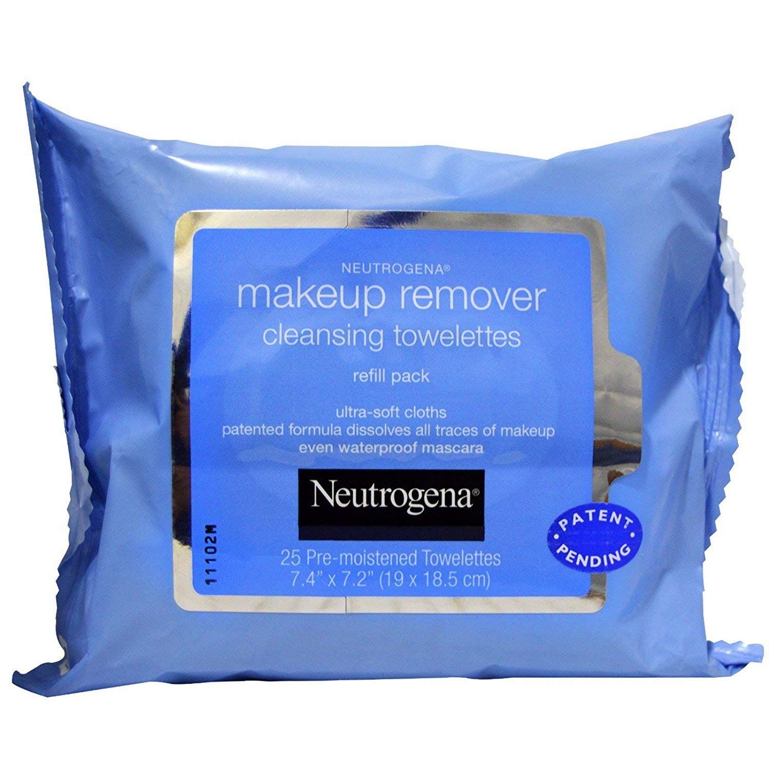 Neutrogena Makeup Remover Cleansing Towelettesの画像