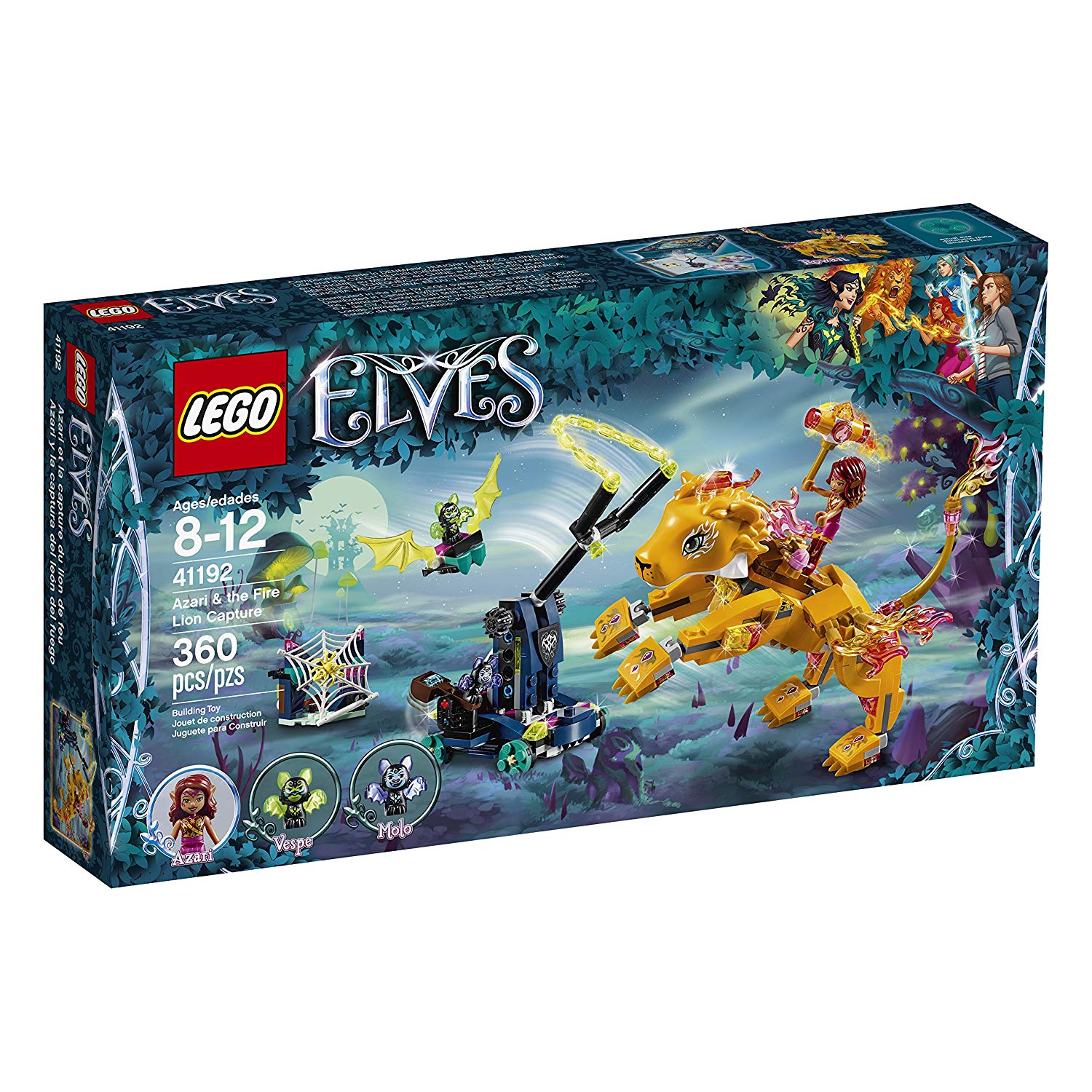 LEGO Elves Azari & The Fire Lionキャプチャ41192の画像