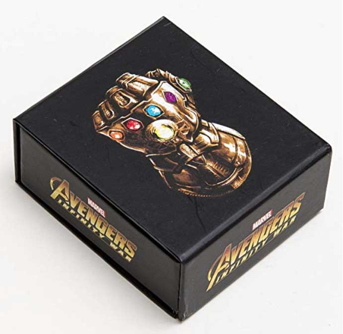Marvel Avengers Infinity War - Infinity Stone Stud Earrings - Set of 6の画像