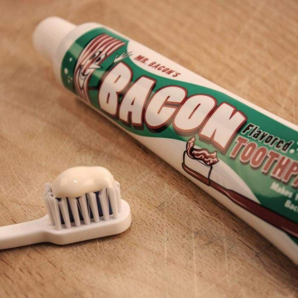 Bacon Flavoured Toothpaste: 70g Tubeの画像