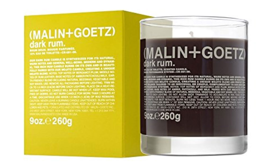 MALIN+GOETZ Dark Rum Scented Candle 260gの画像